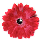 Hot Pink Gerbera Flower with Rhinestone